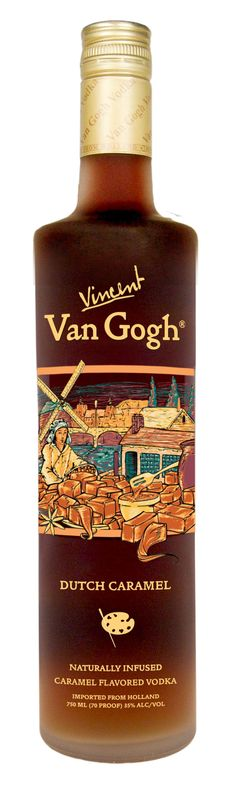 Van Gogh Dutch Caramel Vodka.