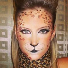 629e193ab1b5 Leopard (Print) Make-Up Tutorial - YouTube | Holidays <3 nel 2019 ...