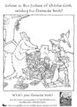 Charlie Cook's Favourite Book Colouring Sheet Colouring Pages, Coloring Sheets, Coloring Books, Gruffalo Activities, Book Activities, Charlie Cook's Favourite Book, Gruffalo's Child, The Gruffalo, Book Week