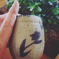 These little pieces feel so good in your hands! My Beautiful Friend, Moscow Mule Mugs, Stoneware, Pine, Pottery, Hands, Tableware, Beauty, Instagram