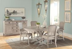Sutton's Bay Driftwood Dining Room Collection