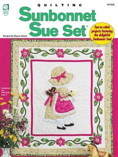 Quilting - Patterns for Children & Babies - Sunbonnet Sue Set