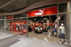 Puma, Syracuse, New York Visual Merchandising, Syracuse New York, Design Furniture, Puma, Retail, Nyc, Fashion Stores, Hospitality, Display