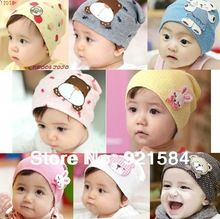 Beanie baby hat kids baby photo props,36 colors lovely animal pattern skull elastic hat/  cap for 0-3 years