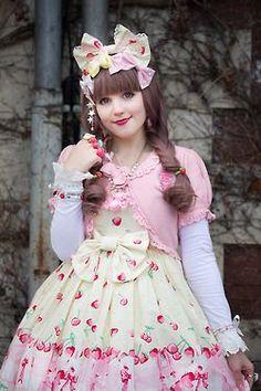 Me in my beloved Cherry Berry Bunny JSK <3<3<3
