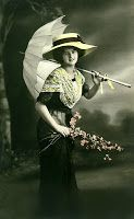 The Sum Of All Crafts: image collection-women (parasols)