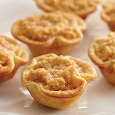Dutch Apple Mini Tarts - The Pampered Chef®. I no longer sell Pampered Chef, but this is still an excellent recipe!
