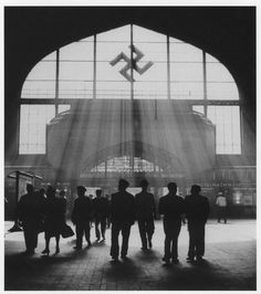 A Nazi train station in Southern Germany.