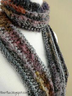 Pixie Dust Scarf Crochet Pattern - FREE!