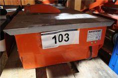 Karner & Dechow Industrie Auktionen - Kreissägetisch Battipav Queen 180, DM max. ca. 180 mm - Postendetails Dm, Tools, Auction, Instruments