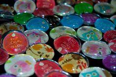 Kinder Kapers: How to make magnets.