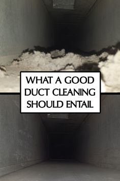 A good duct cleaning can be hard to find. Here's how you can tell if your duct cleaner did a good job. Vent Cleaning, House Cleaning Tips, Cleaning Service, Cleaning Hacks, Clean Air Ducts, Heating And Air Conditioning, Clean House, Crochet Ideas, To Tell