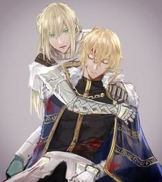Bedivere and Gawain [Fate] Sad Anime, Anime Guys, Anime Art, Funny Prank Videos, Fantasy Art Men, Fate Servants, Fate Anime Series, Fate Zero, Fanart