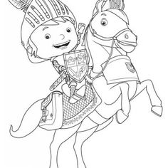 mike the knight coloring pages 5 free printable coloring pages coloringpagesfuncom brodys birthday ideas pinterest knight free printable and