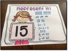 Number Talk Idea - Represent It!