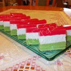 Kókuszos-kekszes kocka Hungarian Cookies, Hungarian Recipes, Hungarian Food, Cake Art, Nutella, Nom Nom, Food And Drink, Sweets, Baking