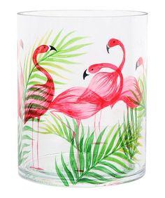 Look at this #zulilyfind! Flamingo Candle Holder #zulilyfinds