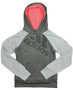 Adidas Big Girls Ultimate Pullover Performance Logo Hoodi... https   www ffb0c473d