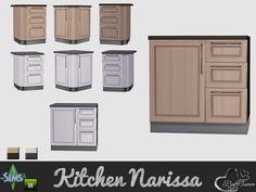 BuffSumm's Kitchen Narissa Counter Three