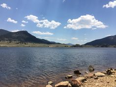 Tarryall Reservoir in Colorado #camper #camping #rving #rvlife #travel #traveldiaries #happycamper #vegancamping #getoutside #outdoorlife #campinglifestyle #campvibes #gorving #roadtrip #colorado #glamping #optoutside #mountains #coloradolive