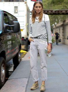 Street Style New York - Marinera