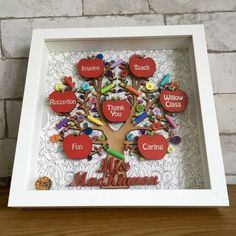 26 Framed Scrabble Tile Christmas Tree – Diymeg