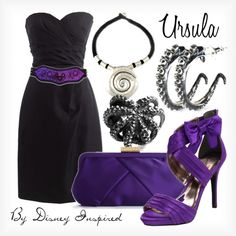 Ursula - from Disney's The Little Mermaid, created by elliekayba on Polyvore