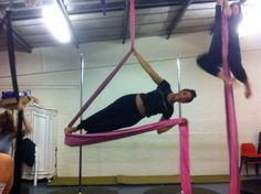 Aerial silks ... Starting out