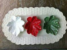 Travessas 'Bordalo Pinheiro, Portugal Portugal, Glass Ceramic, Ceramic Clay, Colour Board, Autumn Leaves, Easter, Sculpture, Table Decorations, Mugs