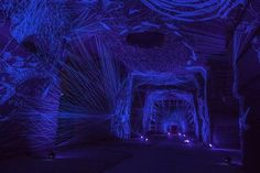 Explore an Underground Cavern Woven with Miles of Glowing Thread | The Creators Project