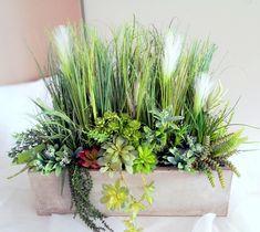 Świąteczne Atelier - Dekoracja  trawy i sukulenty 3 nr. 221 Flower Arrangements, Lab, Flowers, Plants, Atelier, Floral Arrangements, Labs, Plant, Royal Icing Flowers