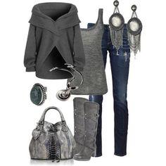 LOLO Moda: Fabulous women outfits With a burgundy jacket instead- beautiful!