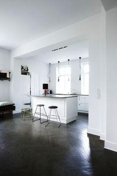 Hjemme hos designer Lisette Bernhoff