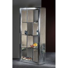 Large Tall Storage Aviator Bookshelf tall units for aviation themed decoration rooms as Smithers cool furniture store for Bedrooms and office styles Uk Cube Bookcase, Etagere Bookcase, Metal Bookcase, Vintage Furniture, Cool Furniture, Furniture Design, Office Furniture, Small Home Offices, Small Office