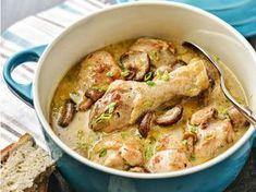 Cocotte de poulet aux champignons - Recettes