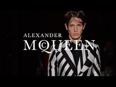 Alexander McQueen | Men's Spring/Summer 2016 | Runway This is more like watching art and no one can beat the original McQueen.  Still love watching these shows,  so creative~