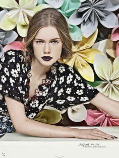 ELLE SWEDEN FEBRUARY 2013 #Fashion #Editorial