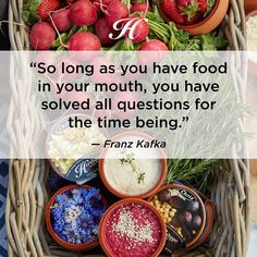 Some food for thought... #chrisdips #foodquotes