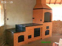 Fogões a Lenha e Churrasqueiras sem Fumaça Toledo Grill Oven, Stove Oven, Outdoor Fireplace Designs, Pizza Oven Outdoor, Rocket Stoves, Rustic Kitchen, Tiny House, Pergola, Backyard