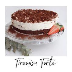 Anzeige| Tiramisu Torte  Zutat… Kakao, Ethnic Recipes, Food, Whipped Cream, Bakken, Recipies, Essen, Meals, Yemek