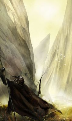 The Archer by Artist Marc Potts. #conceptart #videogames #art (repinned from @Kay Richards Richards Hartman)