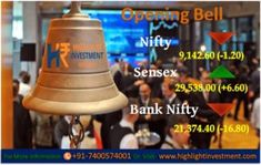 Highlight Investment Research: HIGHLIGHT OPENING BELL #Commodity Trading Tips, #Share Market Tips, #Intraday Tips, #SEBI Registered Investment Adviser in India, #Mcx live price, Commodity tips free trial, Best #advisory company in india, Stock Market tips, Stock Advisory Company, Intraday Stock Calls, Free #Equity Tips on Mobile, Best Investment Advisory Firms in Jai India Advisory For More Details go through this link http://bit.ly/2mw2zdj
