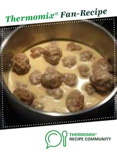 Recipe Swedish Meatballs by Spunkymonkey, learn to make this recipe easily in your kitchen machine and discover other Thermomix recipes in Main dishes - meat. Meat Recipes, Cooking Recipes, Clone Recipe, Swedish Meatball Recipes, Chipped Beef, Creamed Honey, Recipe Community, Food N, Honey Mustard