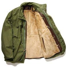 Risultati immagini per Engineered Garments jacket M65 Jacket, Safari Jacket, Fifties Fashion, Engineered Garments, Work Wear, Military Jacket, Casual, Street Wear, Menswear