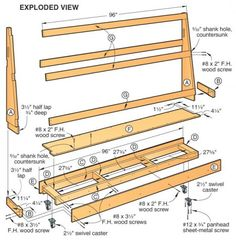 Useful Woodworking Tips For Newbies And Advanced Woodworkers Alike - Easy Build Woodworking Lumber Storage Rack, Plywood Storage, Lumber Rack, Tool Storage, Diy Storage, Garage Storage, Storage Cart, Storage Ideas, Woodworking Shop Layout