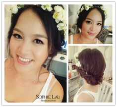 Sophie Lau Makeup and Hair: Wedding Photos