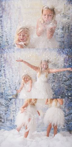 heidi hope backdrop frozen winter wonderland mini session with tutudumonde and snow 6