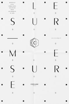 I like the grid of the poster. #typography #graphicdesign