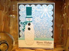 Snowman- Winterwoodland Cricut cart.