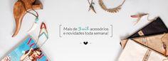 Loja online que comercializa complementos e acessórios femininos feitos especialmente para as mulheres que adoram ficar na moda e ainda mais bonitas!